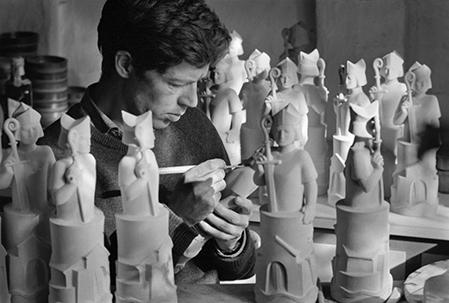 Jacob Bang fotograferet af Ole Haupt (1967). Fra familiearkivet. Tak til Ole Haupt.