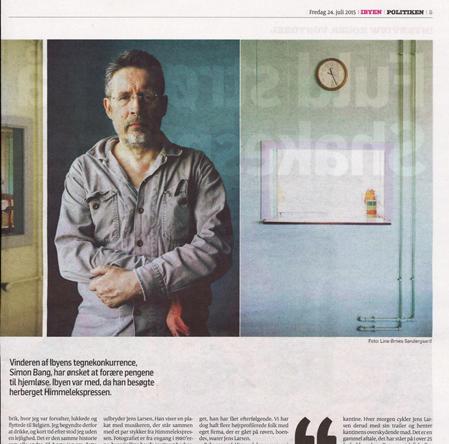 Artikel i Politiken 2015. Klik på billedet for at se hele artiklen.