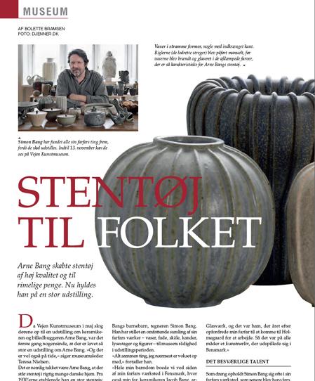 Interview med Simon om Arne Bang. Klik på billedet for at se det fulde interview.