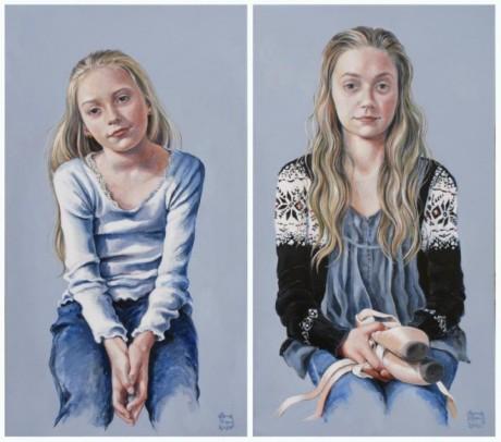 Portrætmaleri-søstre-e1325106411608