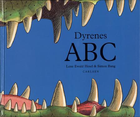 """Simon Bang: """"Dyrenes ABC omslag"""" (2006). I familiens eje. Affotografering af Simon Bang."""