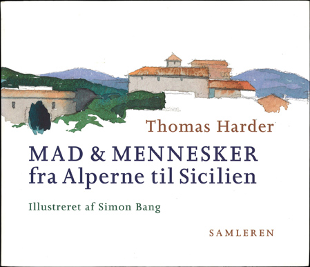 "Simon Bang: ""Omslag og illustrationer til Thomas Harder"" (2004). Affotografering af Simon Bang."